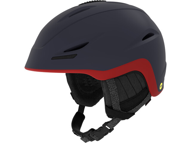 Giro Union MIPS Kask zimowy, mat midnight-dark red sierra